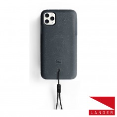 美國 Lander iPhone 11 Pro Max (6.5吋) Moab 防摔手機保護殼 - 星空黑 (附手繩)