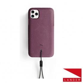 美國 Lander iPhone 11 Pro Max (6.5吋) Moab 防摔手機保護殼 - 莓果紫 (附手繩)