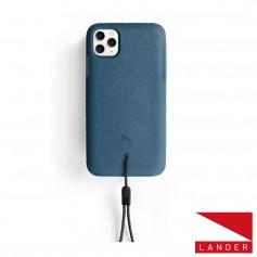 美國 Lander iPhone 11 Pro (5.8吋) Moab 防摔手機保護殼 - 海洋藍 (附手繩)