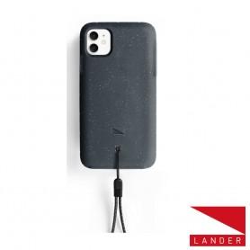 美國 Lander iPhone 11 (6.1吋) Moab 防摔手機保護殼 - 星空黑 (附手繩)