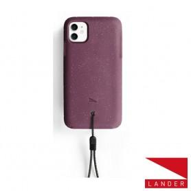 美國 Lander iPhone 11 (6.1吋) Moab 防摔手機保護殼 - 莓果紫 (附手繩)