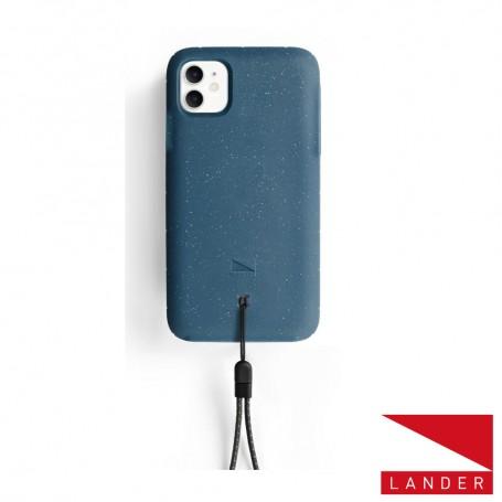 美國 Lander iPhone 11 (6.1吋) Moab 防摔手機保護殼 - 海洋藍 (附手繩)
