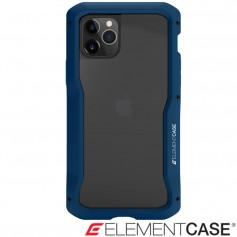 美國 Element Case iPhone 11 Pro 頂級金屬框型軍規殼 - 藍