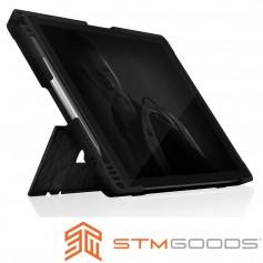 澳洲 STM Dux Shell for MS Surface Pro 7 (相容4/5/6代) 專用軍規防摔平板保護殼 - 黑
