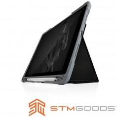 澳洲 STM Dux Plus Duo iPad 2019 (第七代) 10.2吋專用內建筆槽軍規防摔殼 - 黑