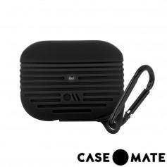 美國 CASE●MATE AirPods Pro 軍規防摔防水保護套 - 黑色 贈掛環
