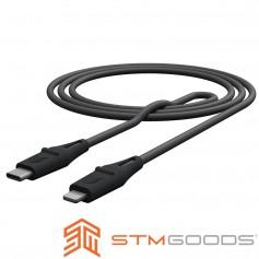 澳洲 STM Dux Cable USB-C to Lightning 強韌易插拔PD高速充電線 - 1.5公尺