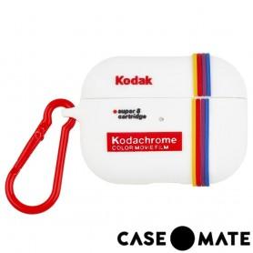 美國 CASE●MATE AirPods Pro 柯達聯名款保護套 - 白色 贈掛環