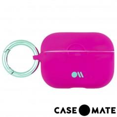 美國 CASE●MATE AirPods Pro 炫彩保護套 - 黑色 贈掛環