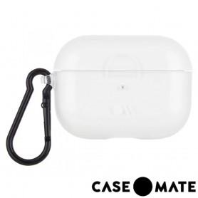 美國 CASE●MATE AirPods Pro 裸感透明保護套 - 晶透 贈掛環
