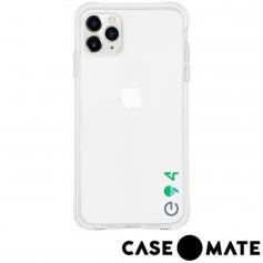 美國 Case●Mate iPhone 11 Pro Tough Eco 防摔手機保護殼愛護地球款 - 透明