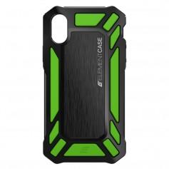 美國 Element Case iPhone X Roll Cage 螢幕防護防摔手機保護殼 - 綠
