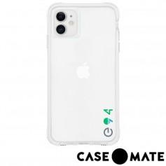 美國 Case●Mate iPhone 11 Tough Eco 防摔手機保護殼愛護地球款 - 透明