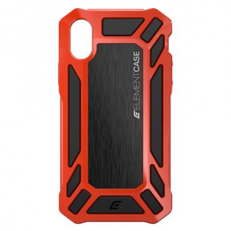 美國 Element Case iPhone X Roll Cage 螢幕防護防摔手機保護殼 - 紅