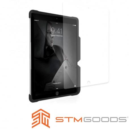 澳洲 STM 軍規防摔殼獨家專用版 iPad 2019 10.2吋 (第七代) 強化玻璃保護貼 - 透明