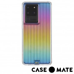 美國 Case●Mate Samsung Galaxy S20 Ultra (6.9吋) Groove 強悍防摔手機保護殼 - 彩虹波浪