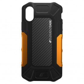 美國 Element Case iPhone X Formula 強化防摔手機保護殼 - 黑橘