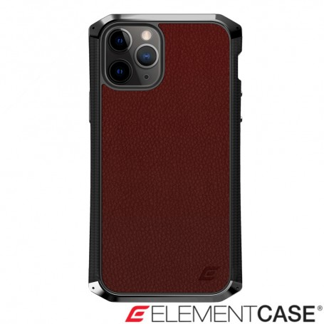 (預購) 美國 Element Case iPhone 11 Pro Max Ronin 尊榮限量頂級防摔殼 - 酒紅
