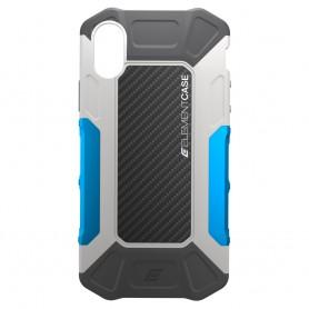 分享 美國 Element Case iPhone X Formula 強化防摔手機保護殼 - 灰藍
