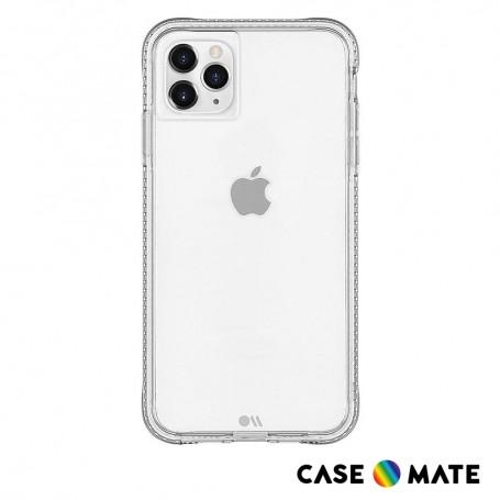 美國 Case-Mate iPhone 11 Pro Tough+ 環保抗菌防摔加強版手機保護殼 - 透明