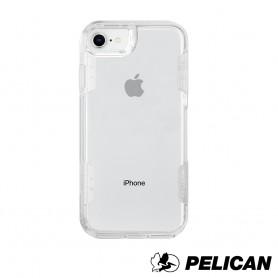 美國 Pelican 派力肯 iPhone SE (第2代) 防摔手機保護殼 Voyager 航海家 - 透明