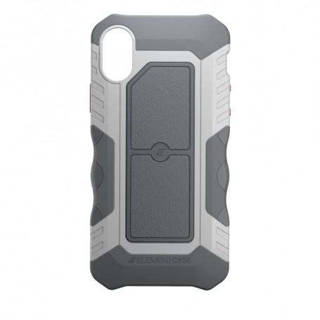 美國 Element Case iPhone X Recon 軍用防摔防滑手機保護殼 - 極地灰