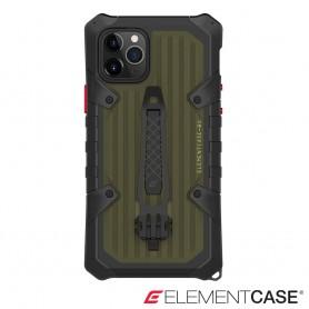 分享 美國 Element Case iPhone 11 Pro Max BLACK OPS 黑色行動菁英版頂級軍規殼 - 軍綠色