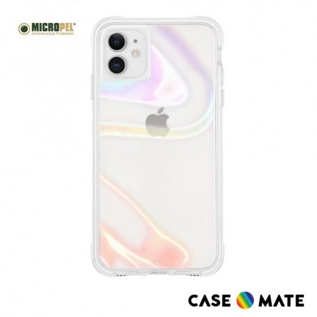 美國Case●Mate iPhone 11 Soap Bubble 幻彩泡泡防摔抗菌手機保護殼