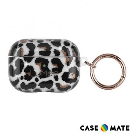 美國 Case•Mate LuMee AirPods Pro 時尚質感保護套 - 豹紋