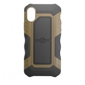 美國 Element Case iPhone X Recon 軍用防摔防滑手機保護殼 - 狼棕