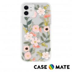 美國 Case●Mate x Rifle Paper Co. 限量聯名款 iPhone 11 防摔手機保護殼 - 花園派對 粉