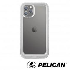 美國 Pelican 派力肯 iPhone 11 Pro 防水防摔手機保護殼 Marine 陸戰隊 - 透明