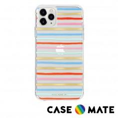 美國 Case●Mate x Rifle Paper Co. 限量聯名款 iPhone 11 Pro 防摔手機保護殼 - 歡樂條紋
