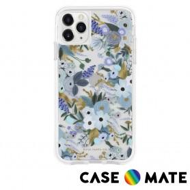 美國 Case●Mate x Rifle Paper Co. 限量聯名款 iPhone 11 Pro 防摔手機保護殼 - 花園派對 藍