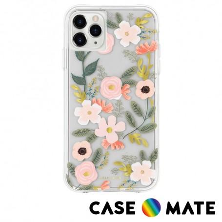 美國 Case●Mate x Rifle Paper Co. 限量聯名款 iPhone 11 Pro Max 防摔手機保護殼 - 花園派對 粉