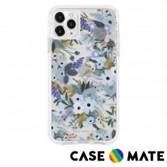 美國 Case●Mate x Rifle Paper Co. 限量聯名款 iPhone 11 Pro Max 防摔手機保護殼 - 花園派對 藍