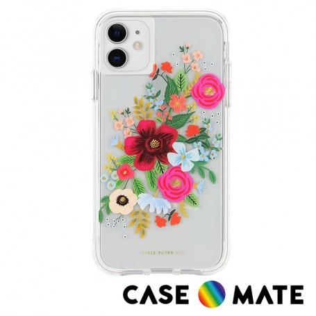 美國 Case●Mate x Rifle Paper Co. 限量聯名款 iPhone 11 防摔手機保護殼 - 玫瑰花束
