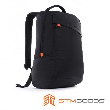 澳洲 STM 商務系列 - 領勢高級筆電後背包 15 吋 - 黑