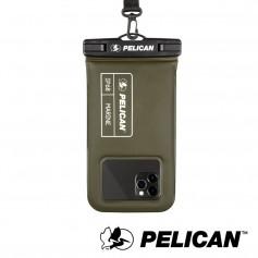 美國 Pelican 派力肯 Marine 陸戰隊防水飄浮手機袋 - 軍綠色