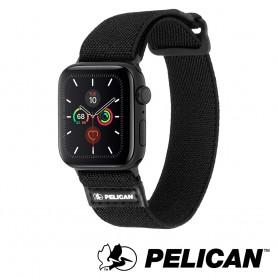 美國 Pelican 派力肯 Apple Watch 42-44mm 1-5代 Protector 保護者NATO錶帶- 黑色