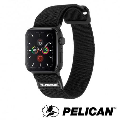 美國 Pelican 派力肯 Apple Watch 38-40mm 1-5代 Protector 保護者NATO錶帶- 黑色
