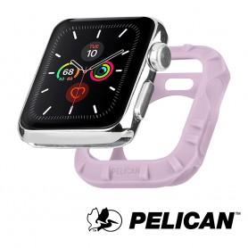 美國 Pelican 派力肯 Apple Watch 38-40mm 1-5代 Protector 保護者保護殼- 淡紫色