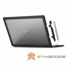 澳洲 STM Dux 微軟 Surface Laptop 3 13.5 筆電專用抗摔保護殼 - 黑