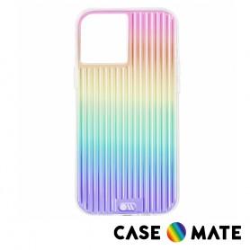 美國 Case●Mate iPhone 12 / 12 Pro Tough Groove 彩虹波浪防摔抗菌手機保護殼