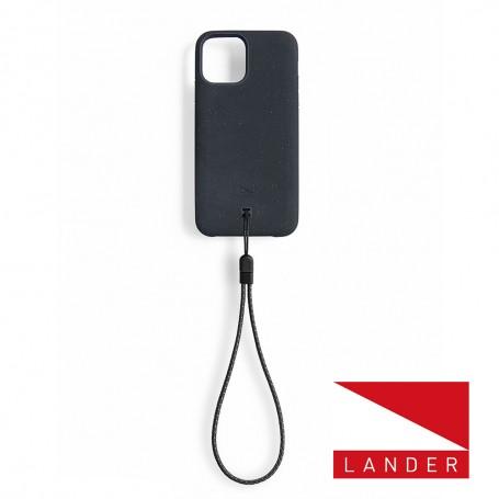 美國 Lander iPhone 12 / 12 Pro Torrey 極致手感防摔殼 - 星空黑 (附手繩)