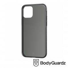 美國 BodyGuardz iPhone 12 / 12 Pro Carve 防滑手感抗菌軍規殼 - 透黑