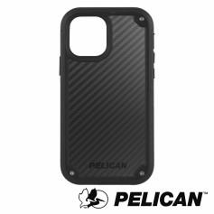 美國 Pelican 派力肯 iPhone 12/12 Pro 防摔抗菌手機保護殼 Shield 凱夫勒背板防護盾 - 黑