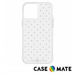 美國 Case●Mate iPhone 12 Pro Max Sheer Gems 純色水鑽防摔抗菌手機保護殼