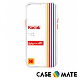 美國 Case●Mate iPhone 12 mini 柯達聯名款防摔殼 - 彩色條紋