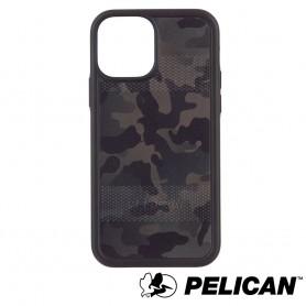 美國 Pelican 派力肯 iPhone 12 mini 防摔抗菌手機保護殼 Protector 保護者 - 迷彩綠